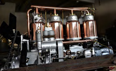 1914 cadillac engine in the shop