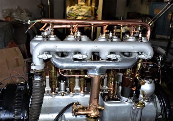 rebuilt 1914 cadillac engine