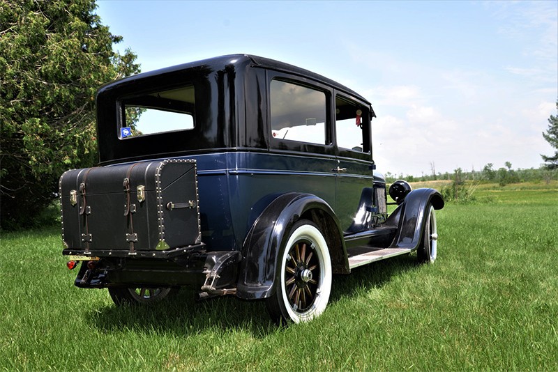 1926 chrysler model 25 back