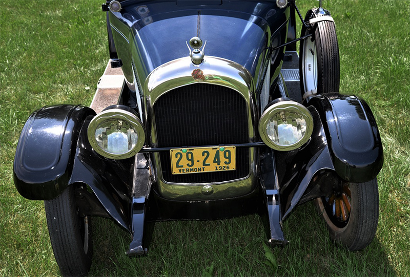 1926 chrysler model 25 grill