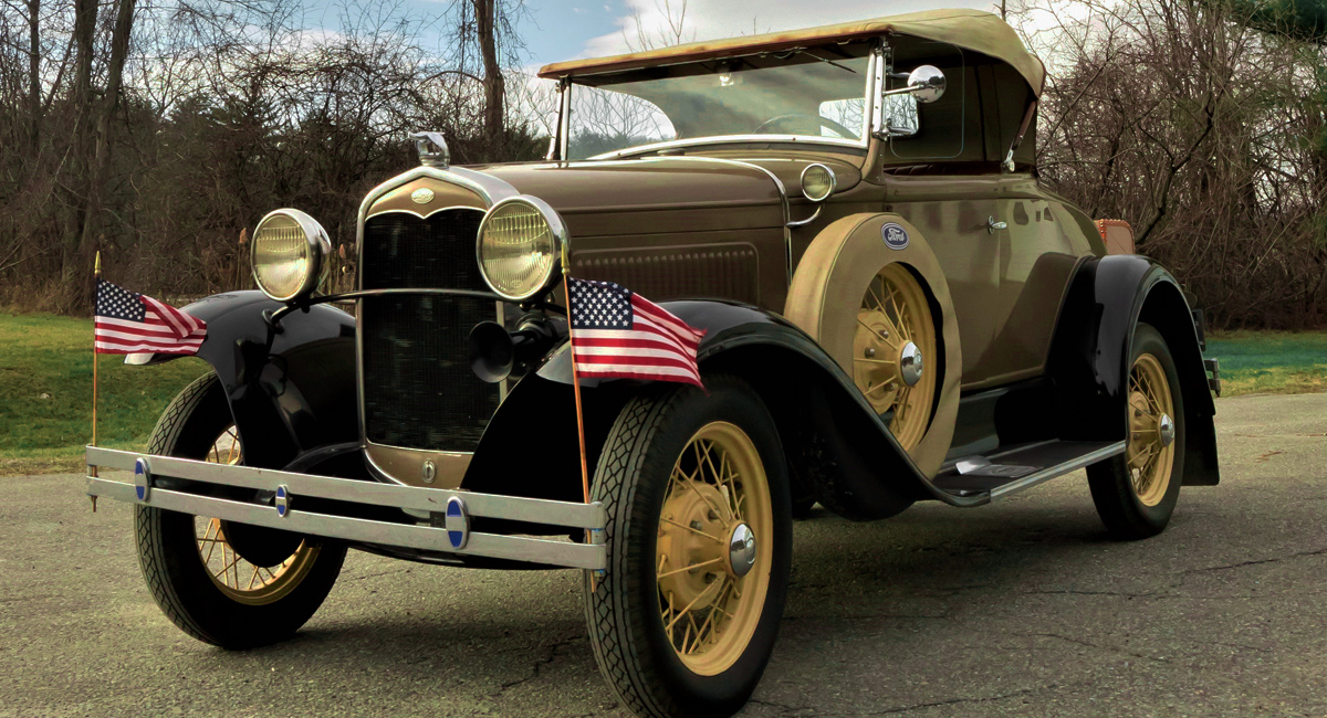 1931 Ford Model A & Deluxe Model A History