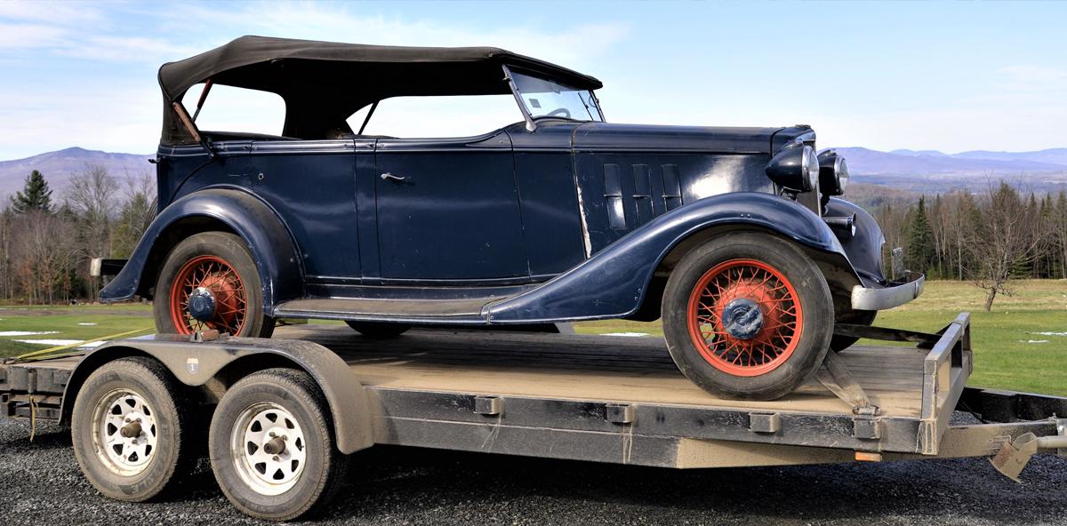 1933 chevrolet master eagle phaeton trailer