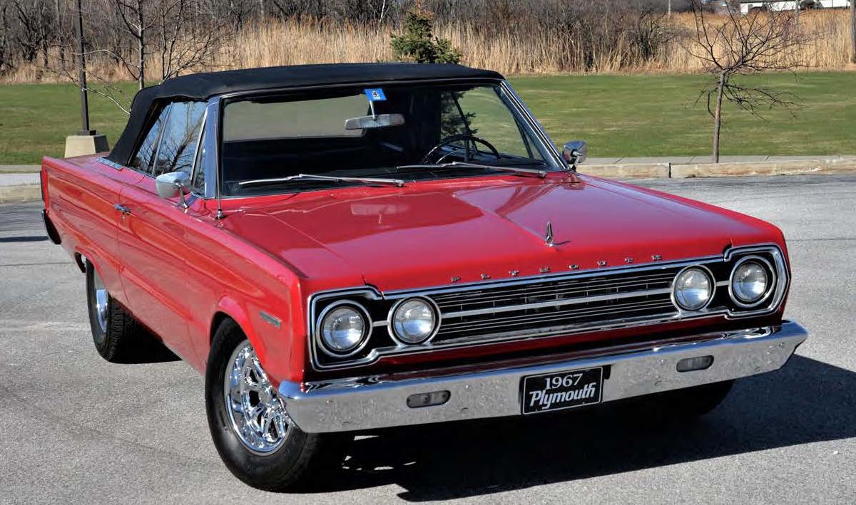 1967 Plymouth Belvedere II Convertible