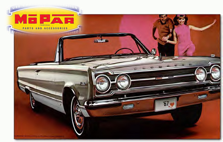 1967 Plymouth Belvedere ad