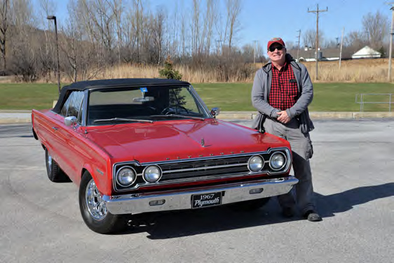 Jeff Vos 1967 Plymouth Belvedere II Convertible