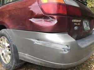 subaru bumper repair