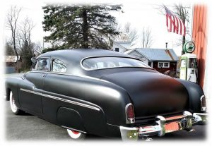 1951 mercury hot rod back