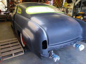 1951 mercury hot rod paintjob
