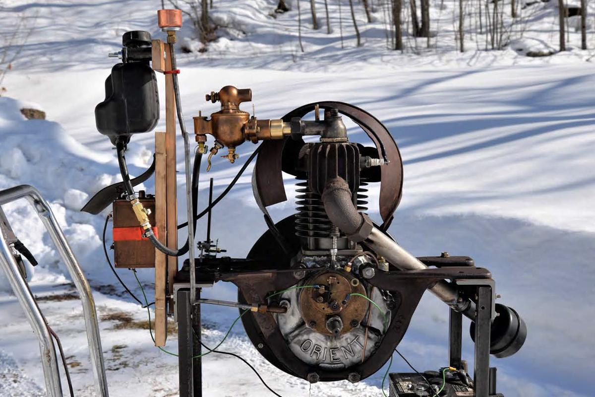 1905 Orient Buckboard Engine