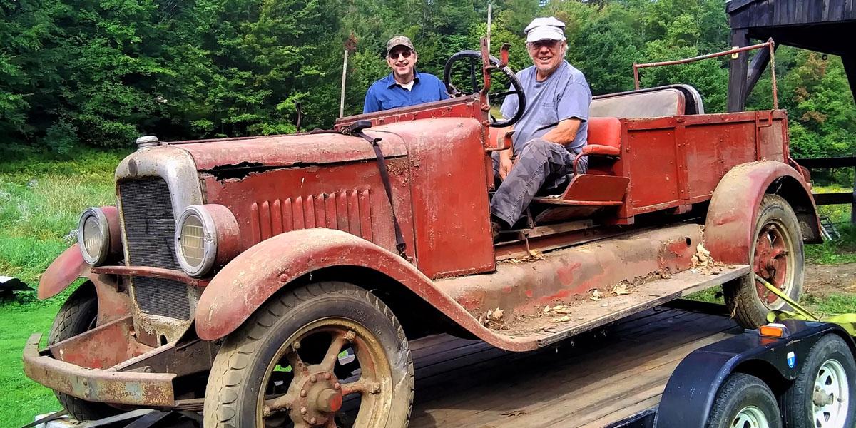 1927 GMC firetruck