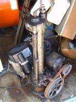 Model T engine boring machine